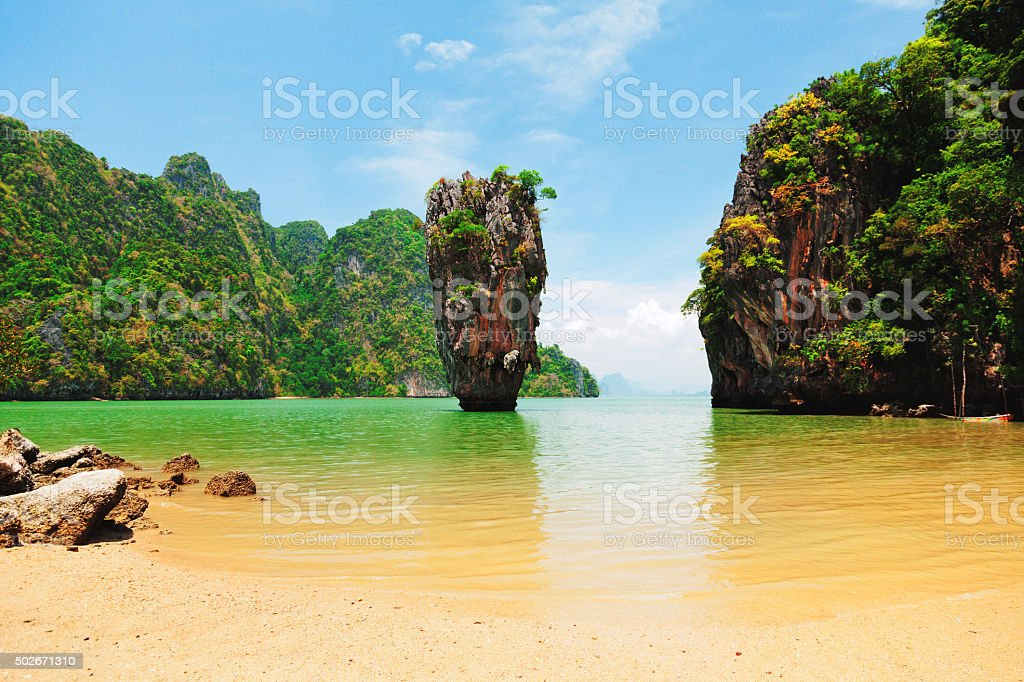 Khao Phing Kan stock photo