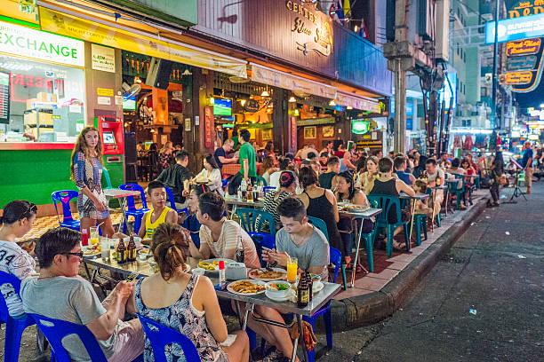 Khao San Road, Bangkok stock photo