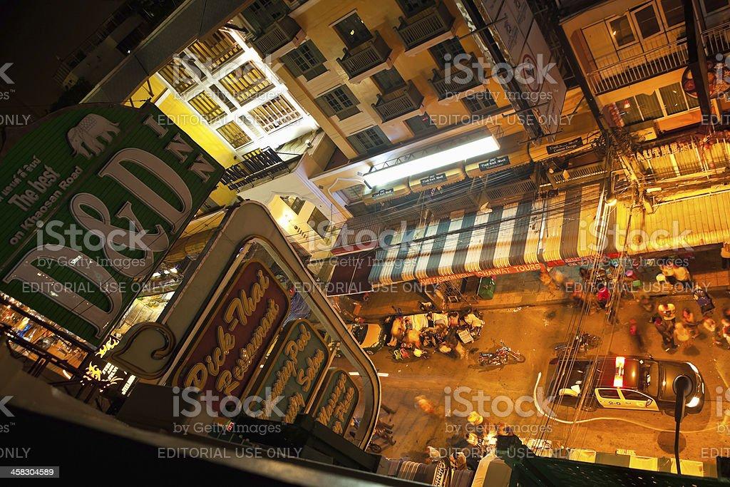 Khao San Road - Bangkok, Thailand royalty-free stock photo