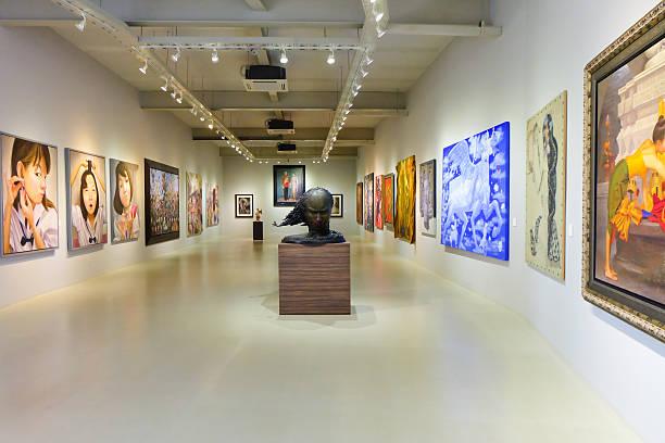 khao yai art museum - museu imagens e fotografias de stock