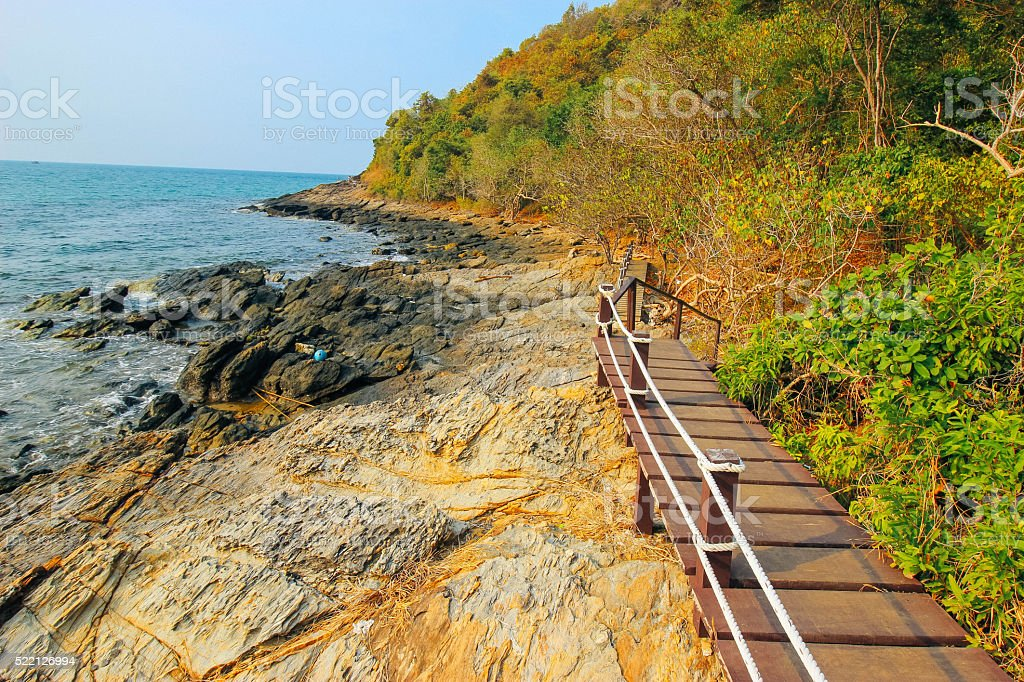 khao-laem-ya 24 March 2016:'View khao-laem-ya national park' Rayong Thailand stock photo