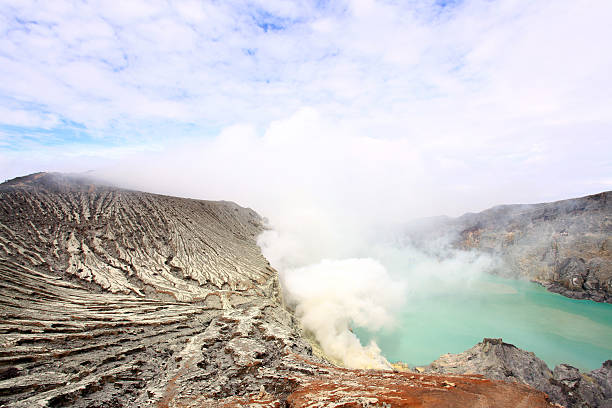 Khava Ijen Java, Indonesia. - foto de stock