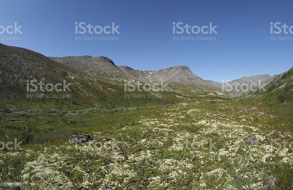 Khibiny mountains royalty-free stock photo