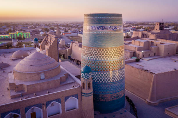 Khiva Sonnenuntergang Usbekistan Kalta Minor – Foto