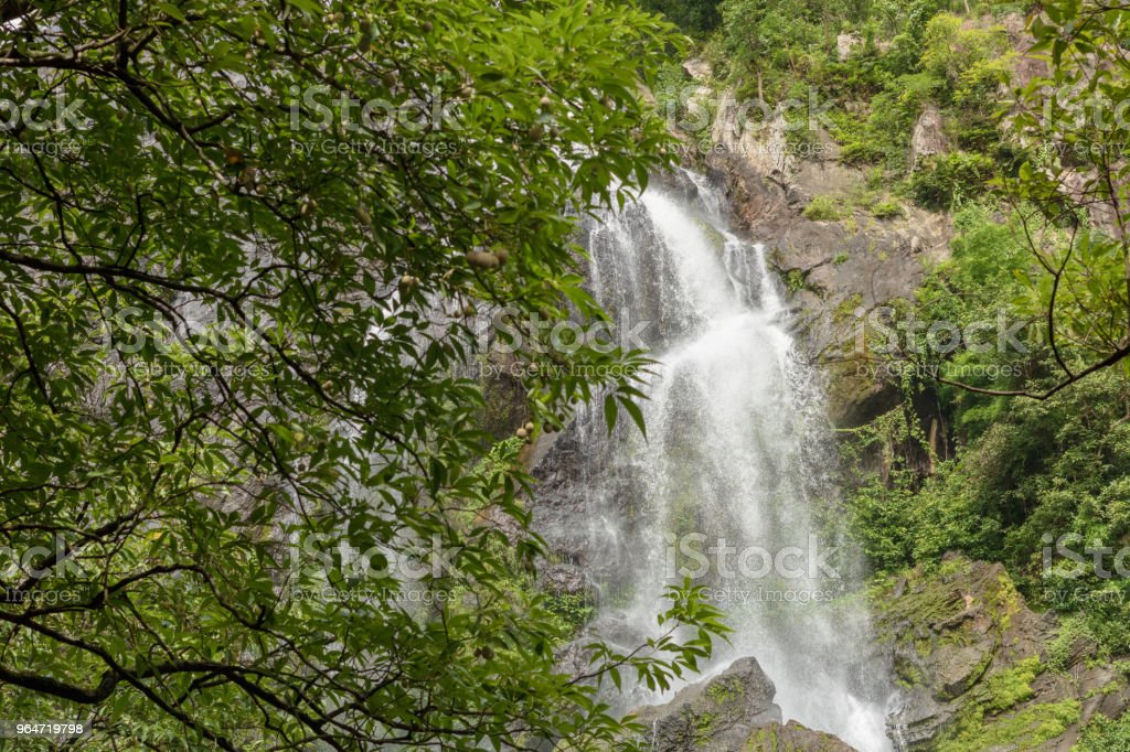 Khlong Lan Waterfall, Beautiful waterfalls in khlong Lan national park of Thailand at KamphaengPhet Province in Thailand. royalty-free stock photo
