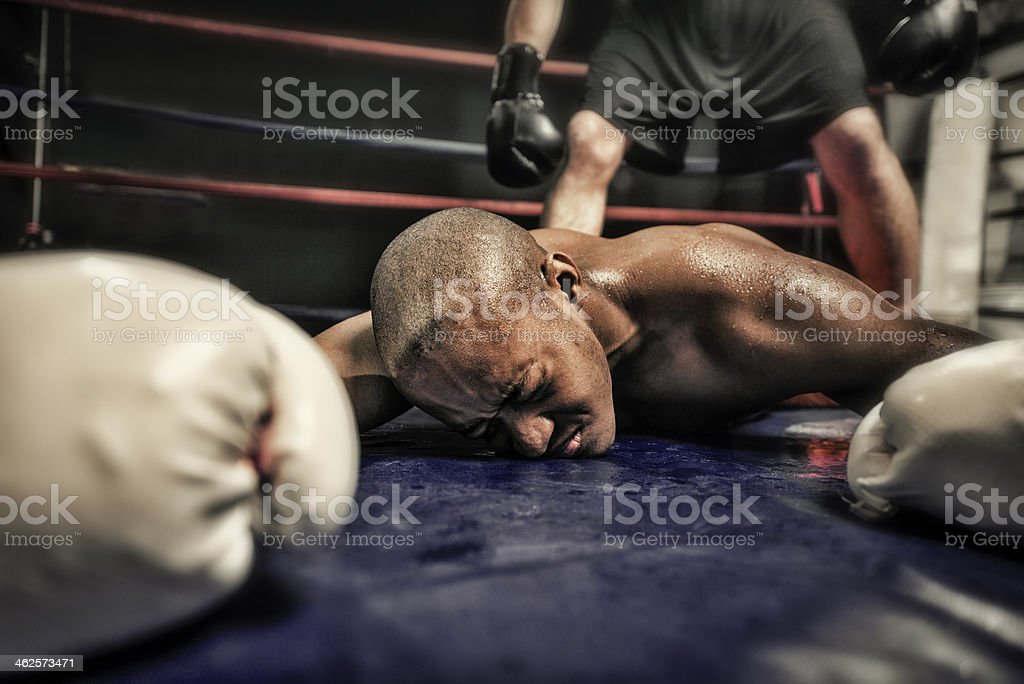 Khock Out stock photo