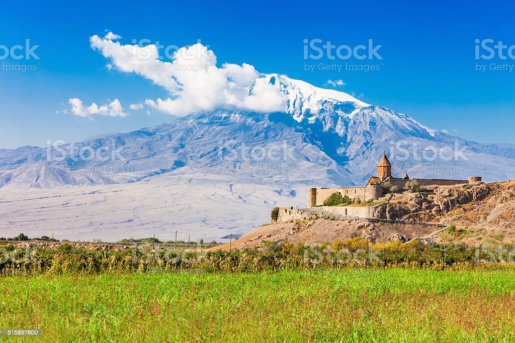Khor Virap Monastery stock photo