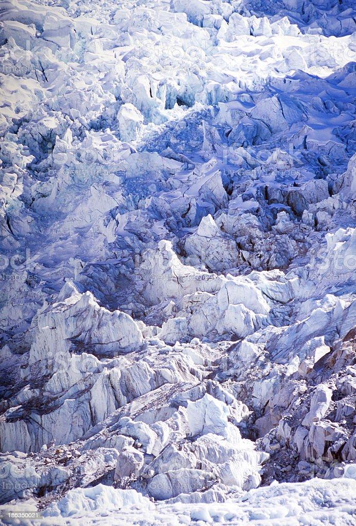 Khumbu Icefall royalty-free stock photo