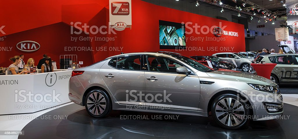 Kia Optima royalty-free stock photo