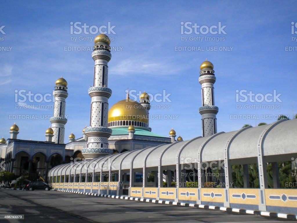Kiarong mosque stock photo