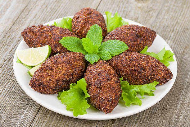 Kibbeh Kibbeh zaatar spice stock pictures, royalty-free photos & images