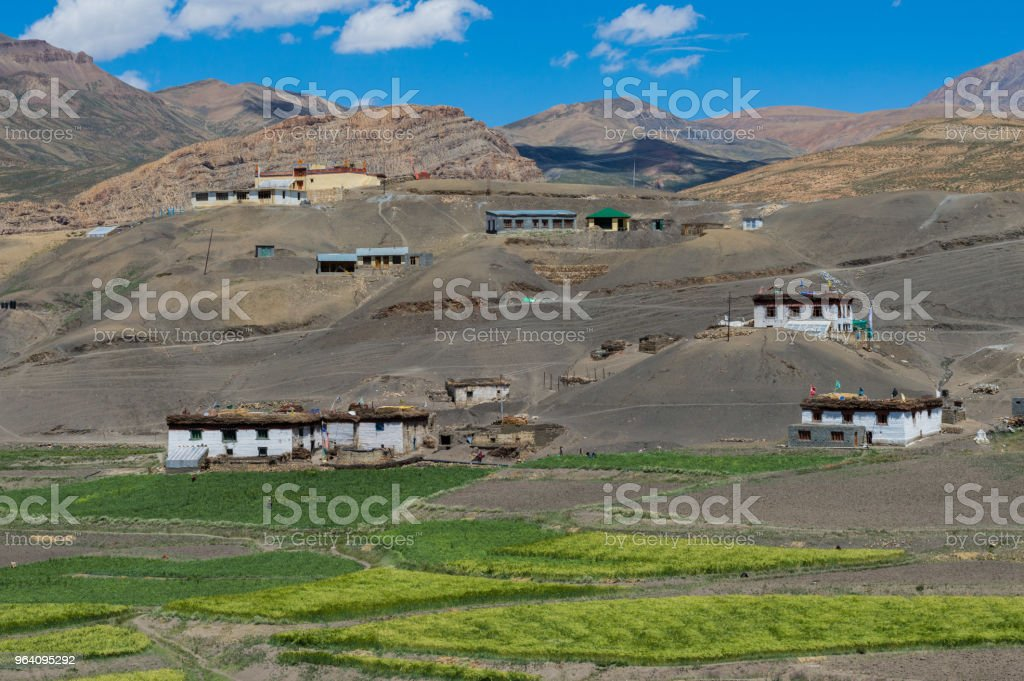 Kibbir Village, Spiti Himachla - Royalty-free Adventure Stock Photo