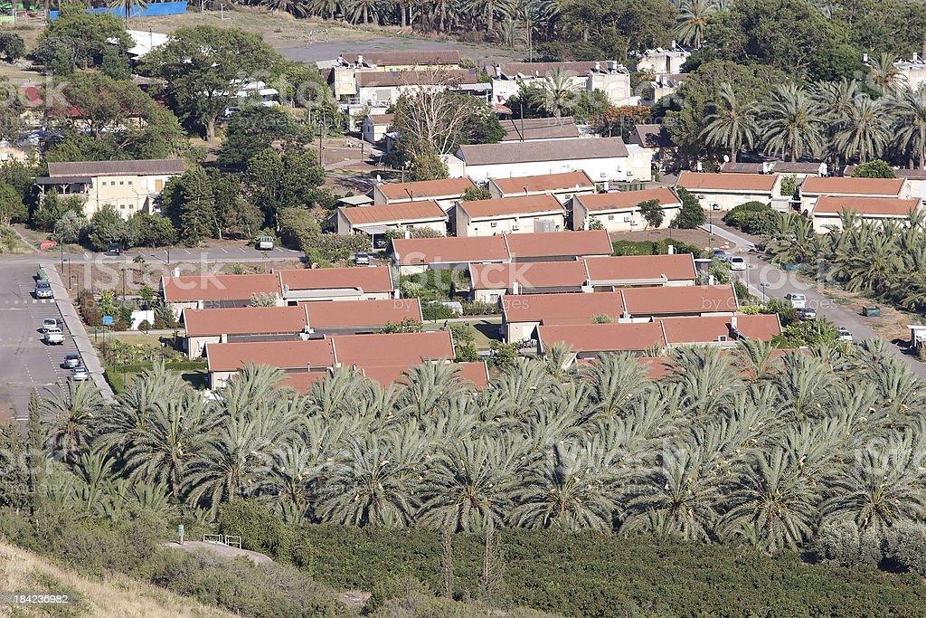 Kibbuz royalty-free stock photo