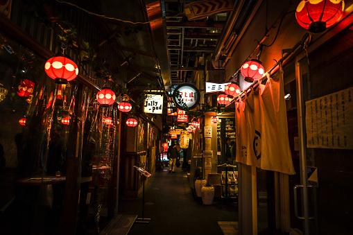 Kichijoji harmonica alley. Shooting Location: Musashino-shi, Tokyo