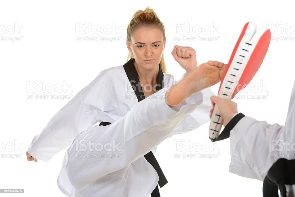 Kick Start Fitness stock photo