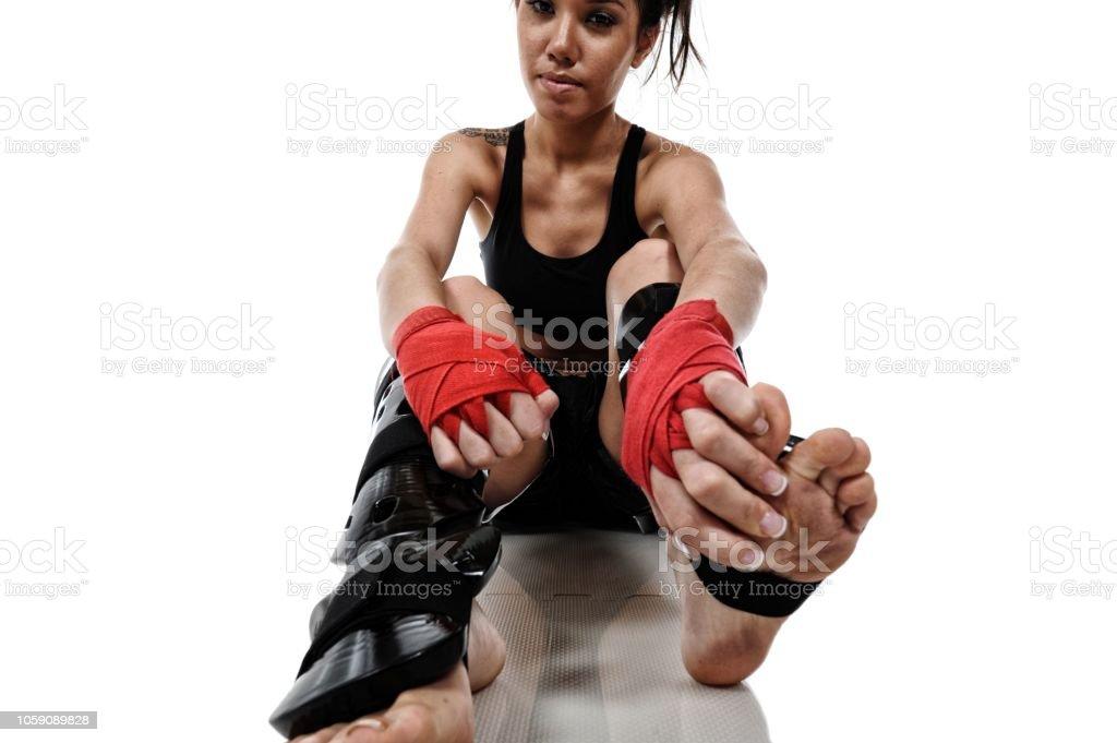 Kickbox Life stock photo