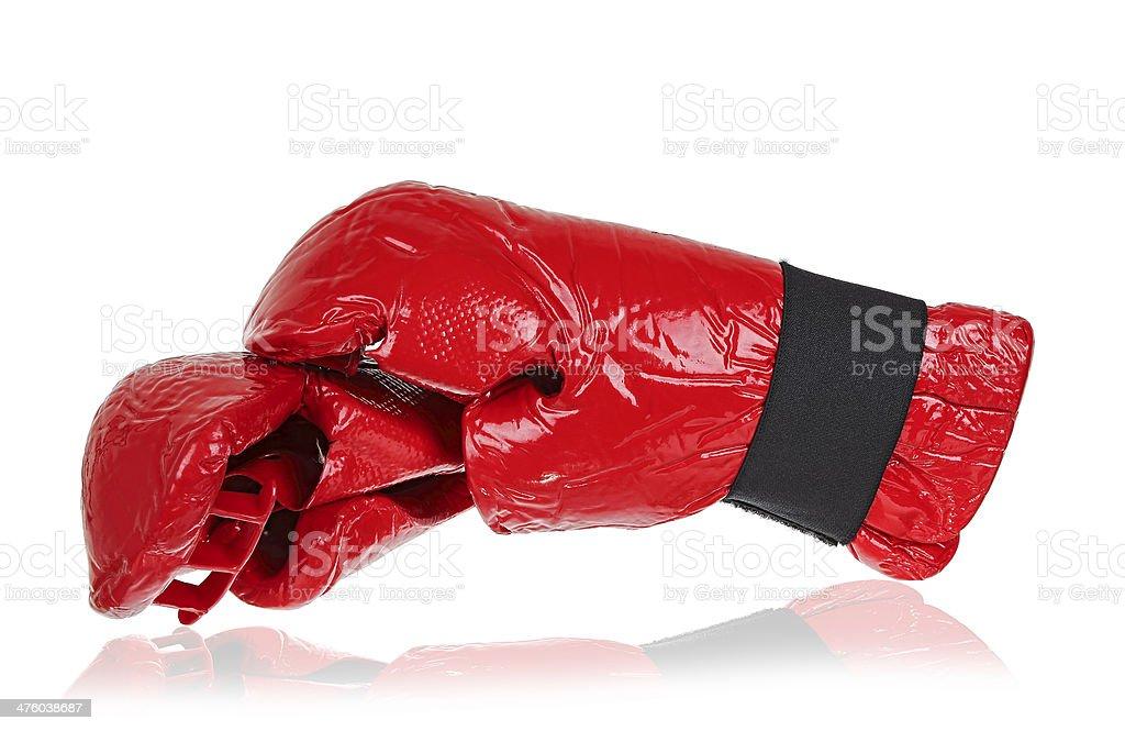 kickboxing gloves royalty-free stock photo