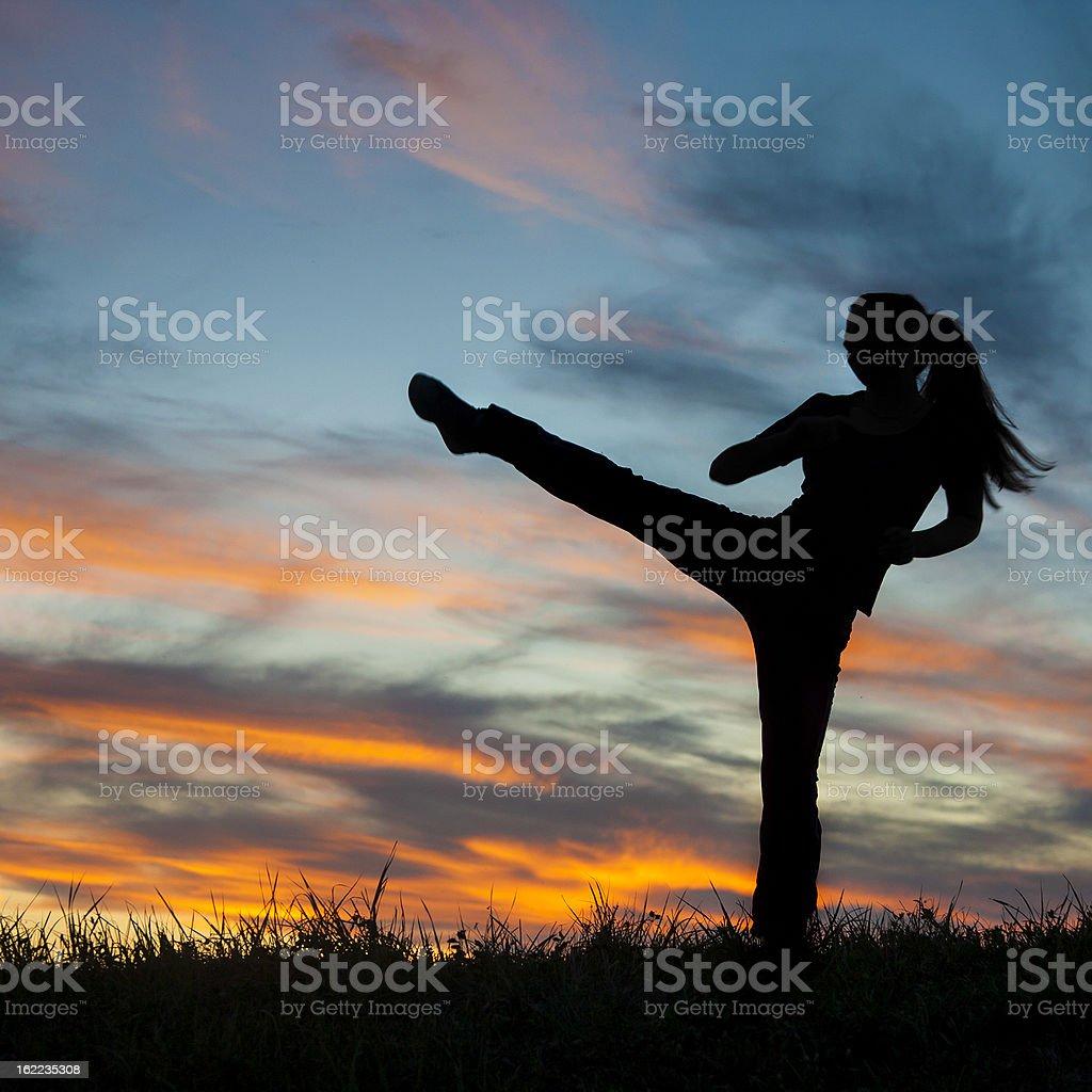 Kickboxing stock photo