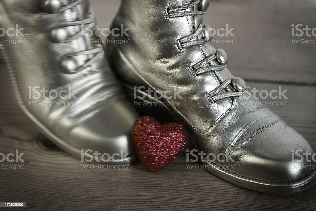 Kicking Heart stock photo