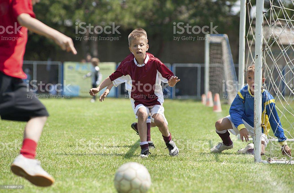kicking stock photo