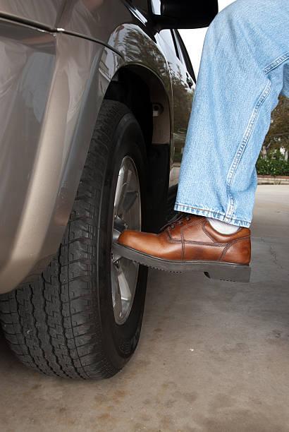 Kicking the tire