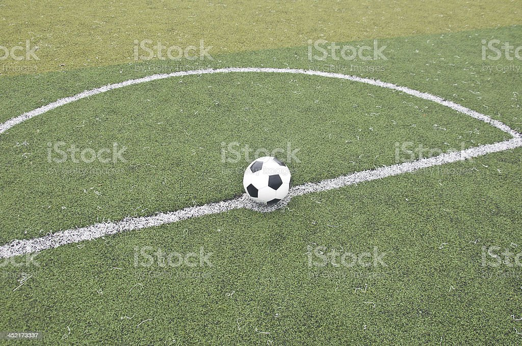 Kick-off royalty-free stock photo