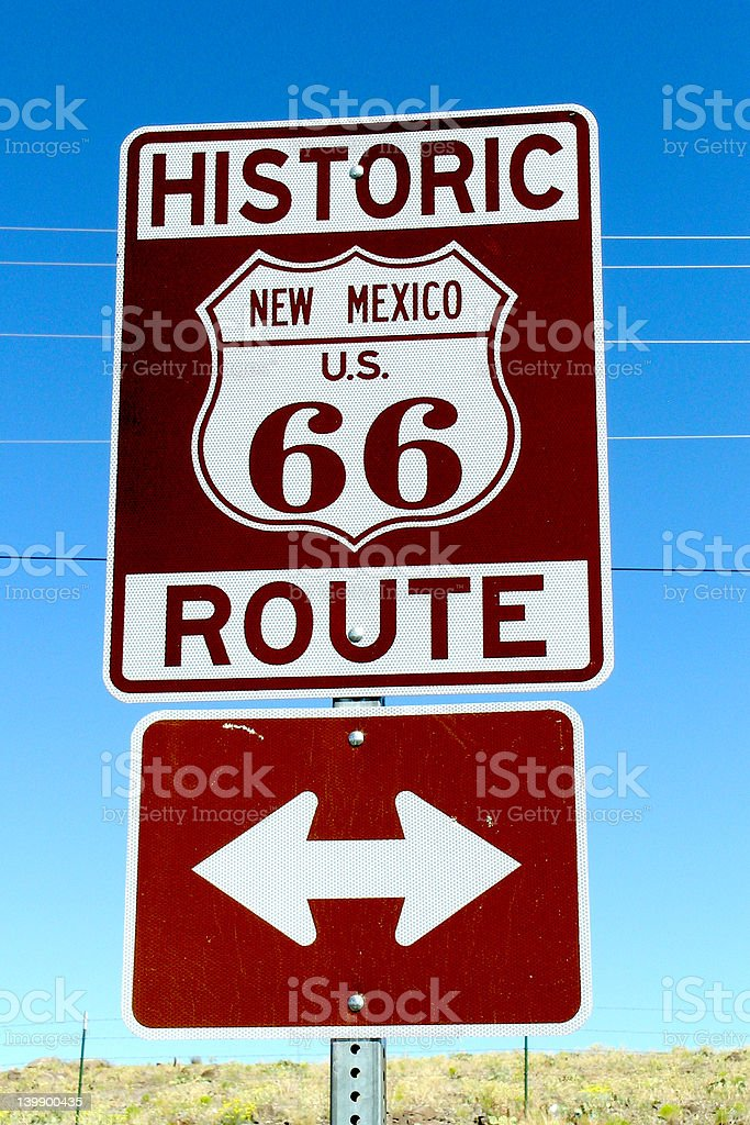 Kicks On Route 66 stock photo