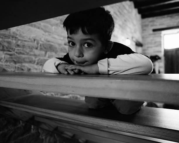 Kid and the Stairs  grifare stock pictures, royalty-free photos & images