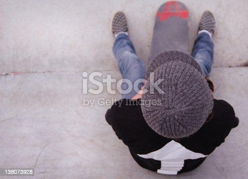 istock Kid Boy Skater Teen 138073928