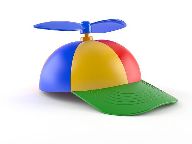 Kid cap Kid cap isolated on white backgroundhttp://www.tawhy.hekko.pl/alphamap.jpg propeller stock pictures, royalty-free photos & images