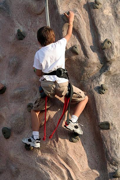 Kind-Kletterwand – Foto