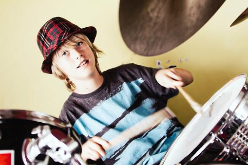 istock Kid Drummer 166056269