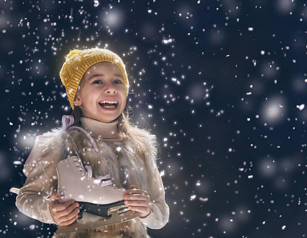 kid on dark background stock photo