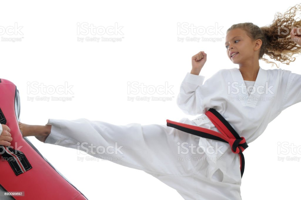 Kid Power stock photo