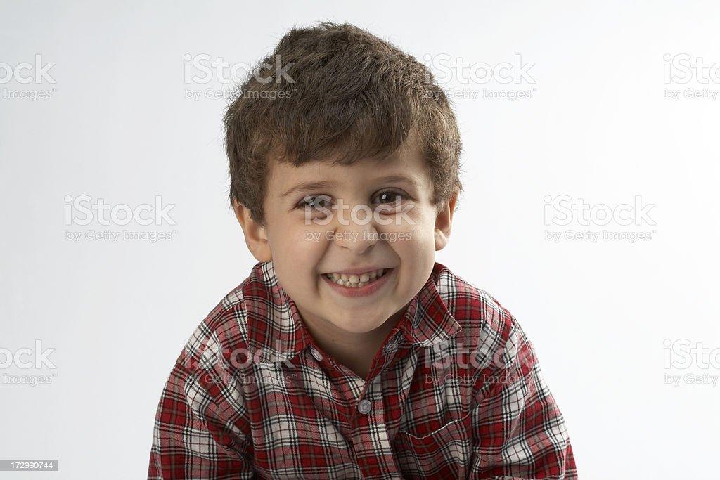 Kid smiling royalty-free stock photo