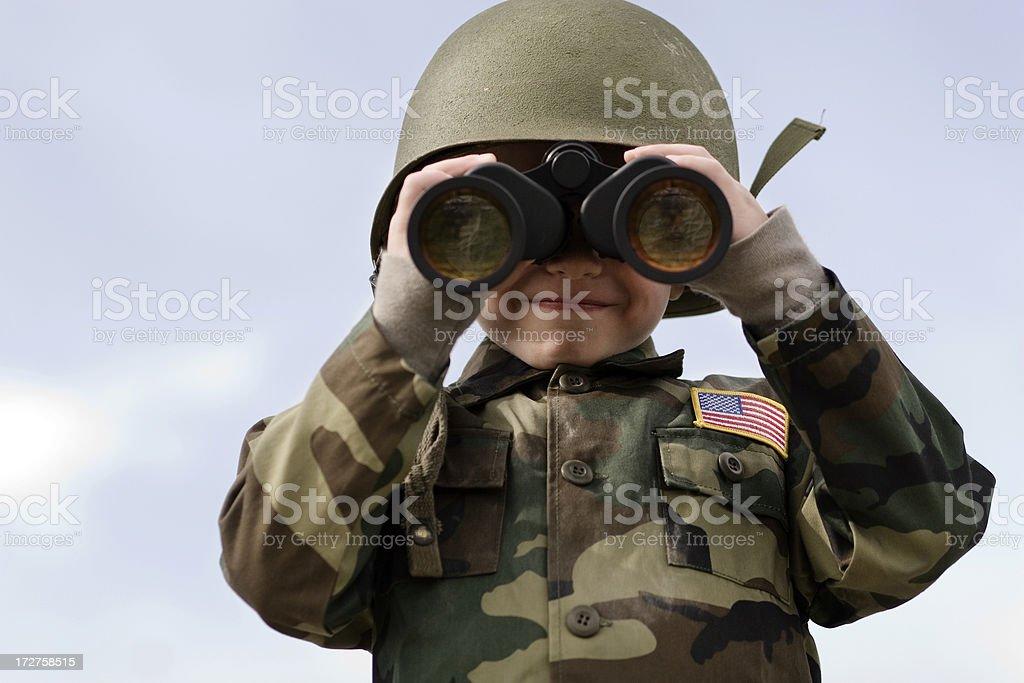 Kid Surveillance stock photo