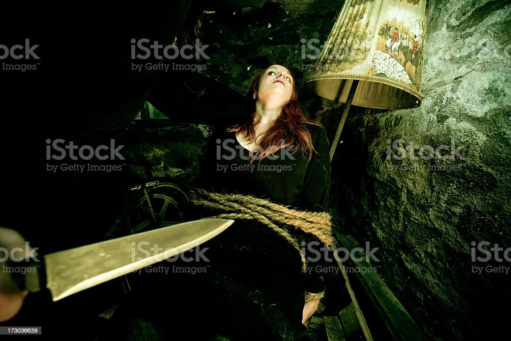 kidnapped royalty-free stock photo