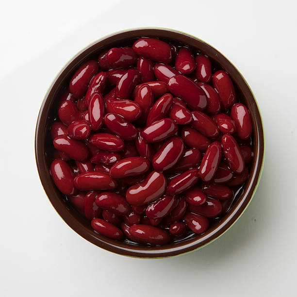 Kidney Bean bowl stock photo