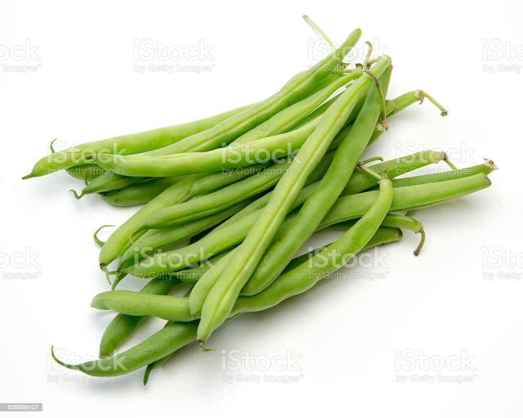 Kidney beans in a white background stock photo