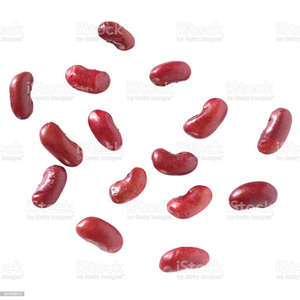 Kidney Beans Isolated stock photo