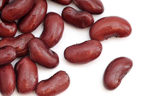 Kidney Beans Scattered stock photo