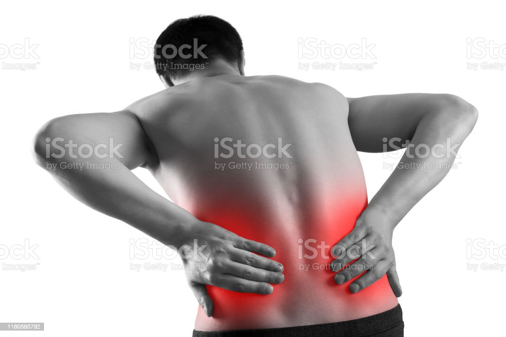 Kidney Stones Pain In A Mans Body Isolated On White Background Chronic Diseases Of The Urinary System Concept Stock Photo Download Image Now Istock