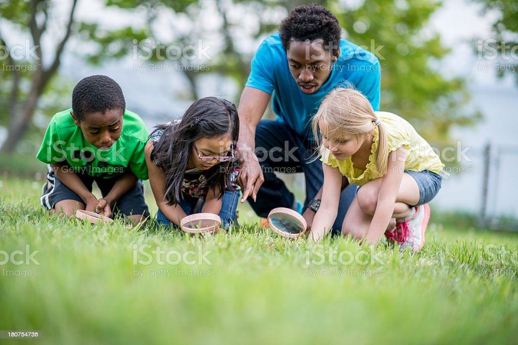 Enfants au Camp de jour - Photo