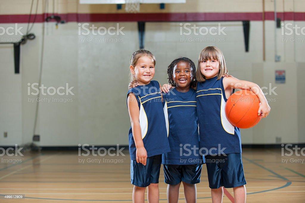 Kids Basketball stock photo