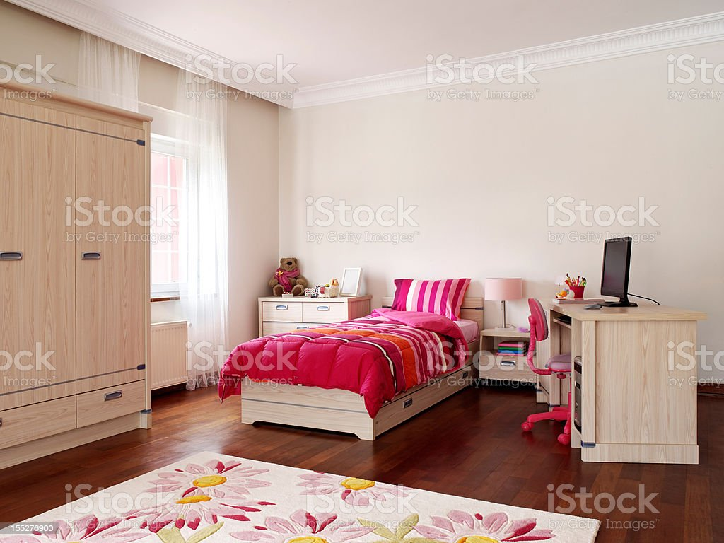 Kid's Bedroom stock photo