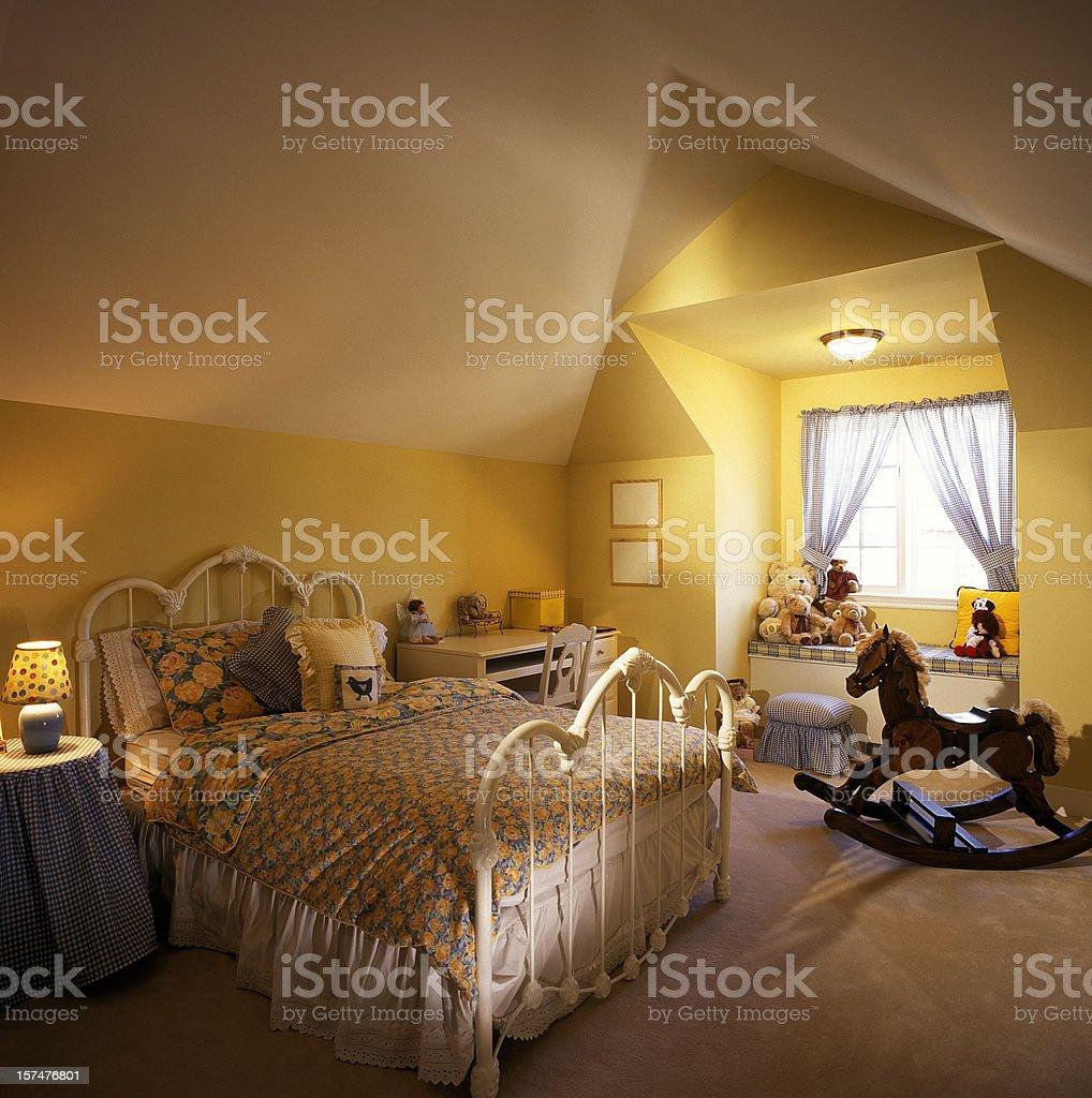 Kid's Bedroom royalty-free stock photo