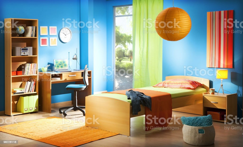 kid's bedroom royalty-free stock photo