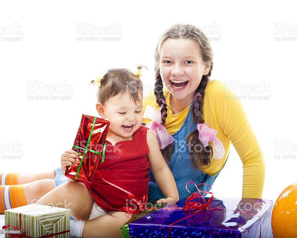Kinder-Geburtstag Lizenzfreies stock-foto