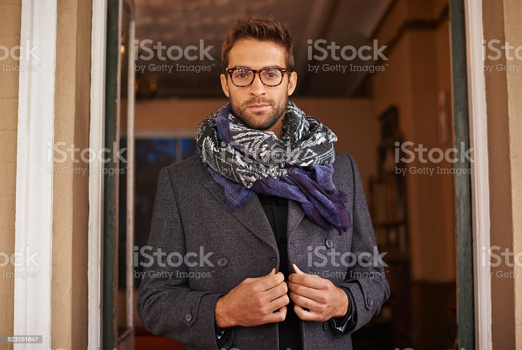 Kids call it swag, men call it class stock photo