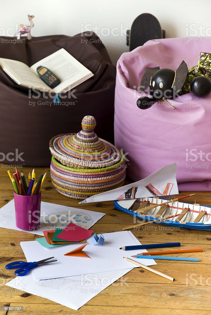 Kids corner royalty-free stock photo